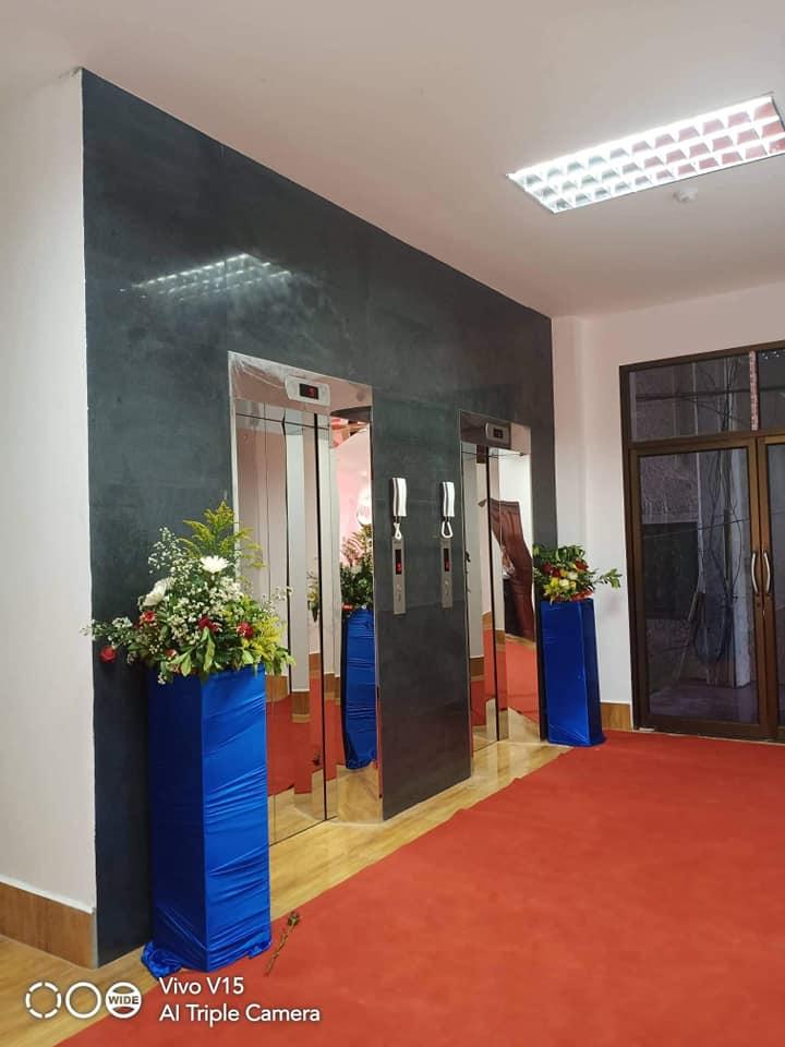 Lắp đặt thang máy tại Lào