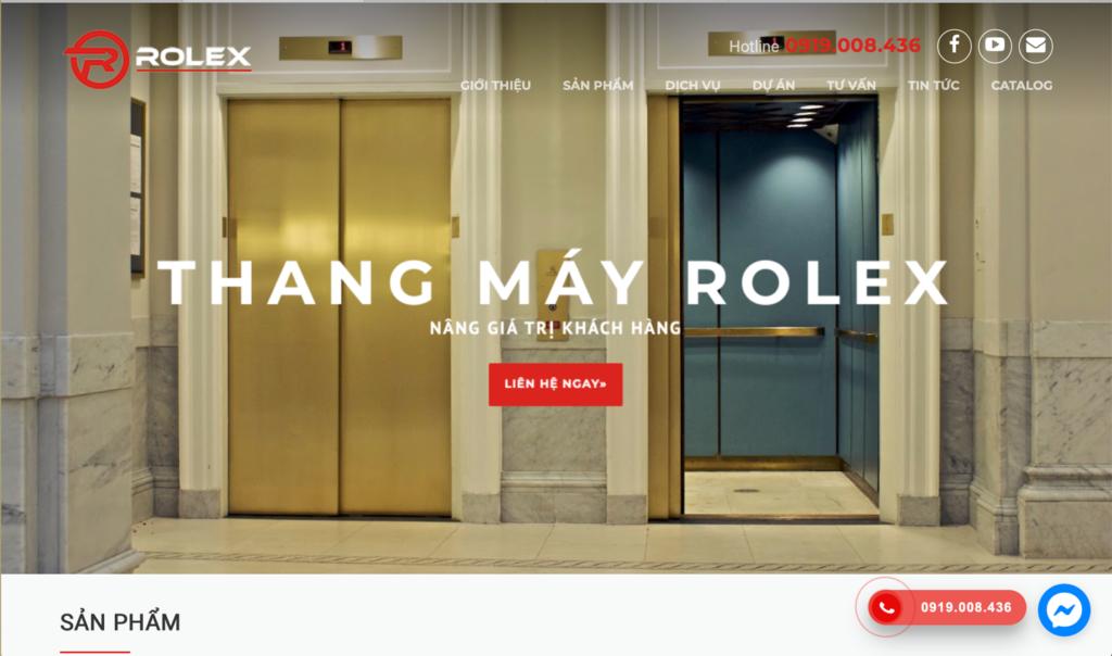 Thang máy Rolex tự tin là đơn vị chuyên cung cấp và lắp đặt thang máy uy tín, chất lượng hàng đầu Việt Nam